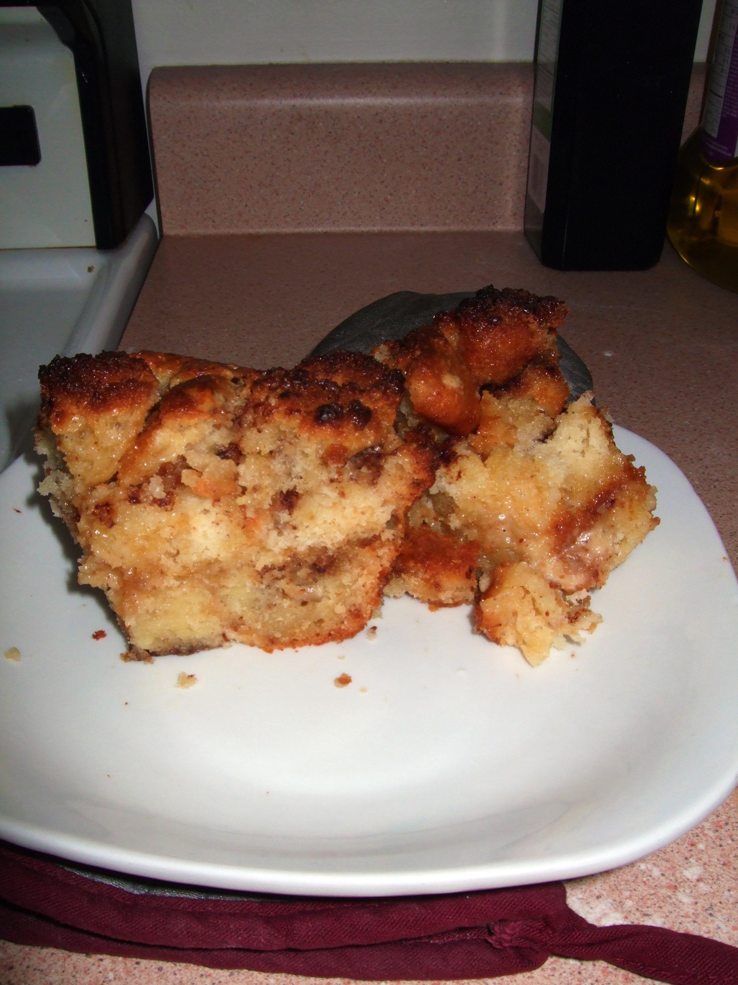 Muffin Pudding (hmm, sounds weird) Muffin Bread Pudding (better?) |